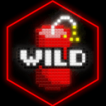 Wild symbol from slot machine Rocket Returns online