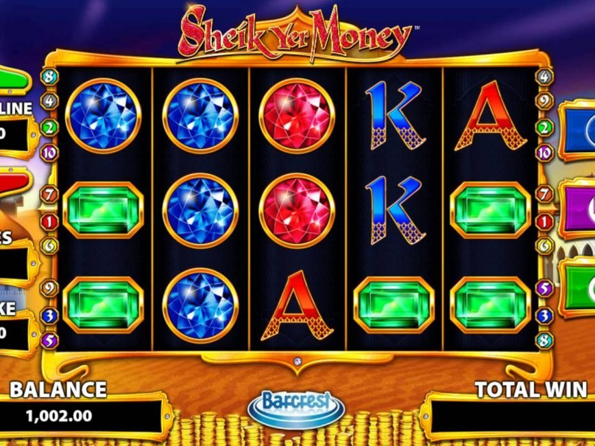 Picture from casino game Sheik Yer Money
