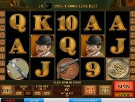 Sherlock Mystery online free slot