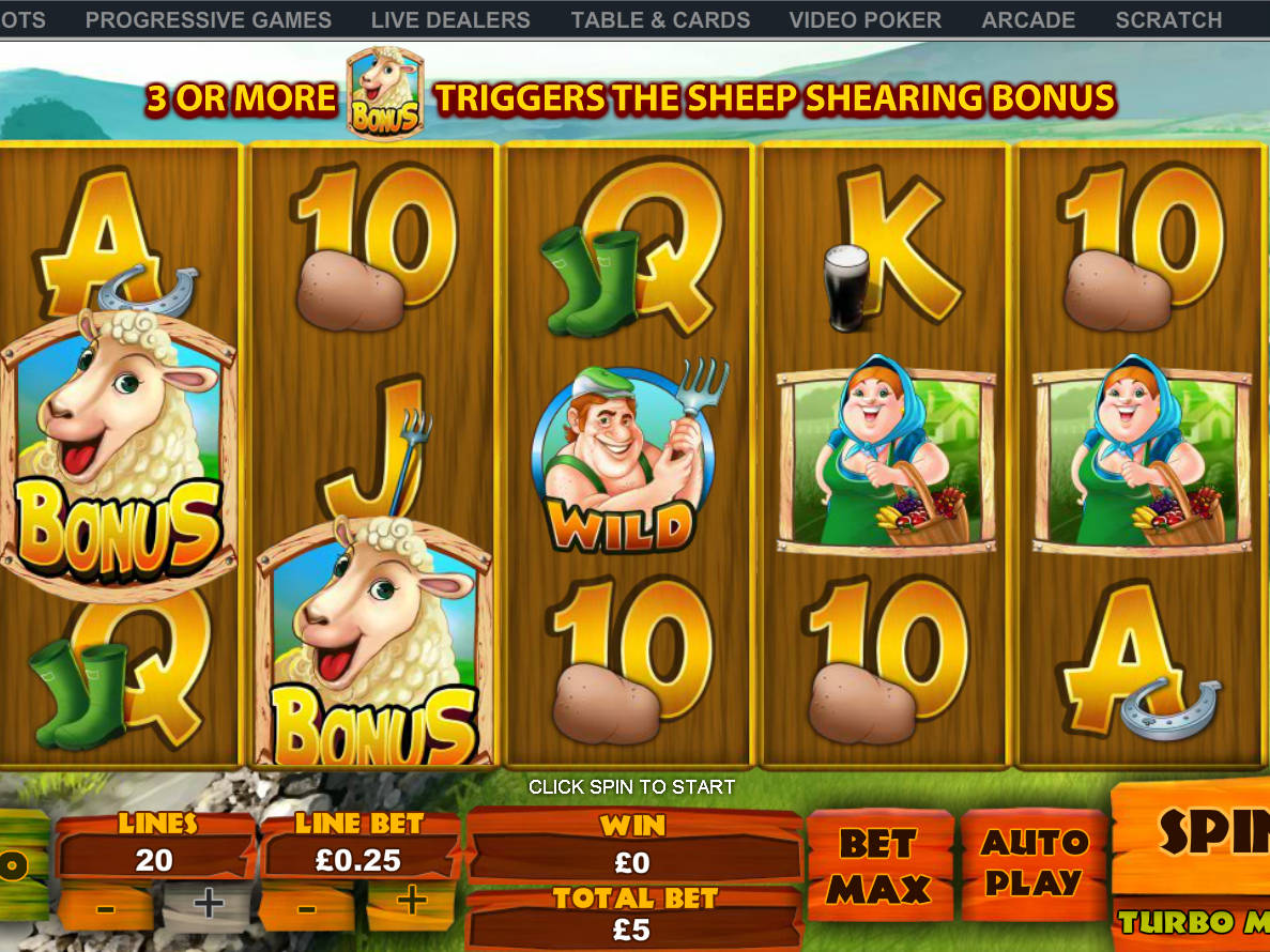 Spud O'Reilly's Crops of Gold Slot - Play for Free Online