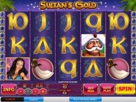 No registration game Sultan's Gold online