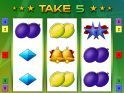 Take 5 online free slot by Bally Wulff