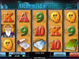 Online slot for fun The Alchemist's Spell