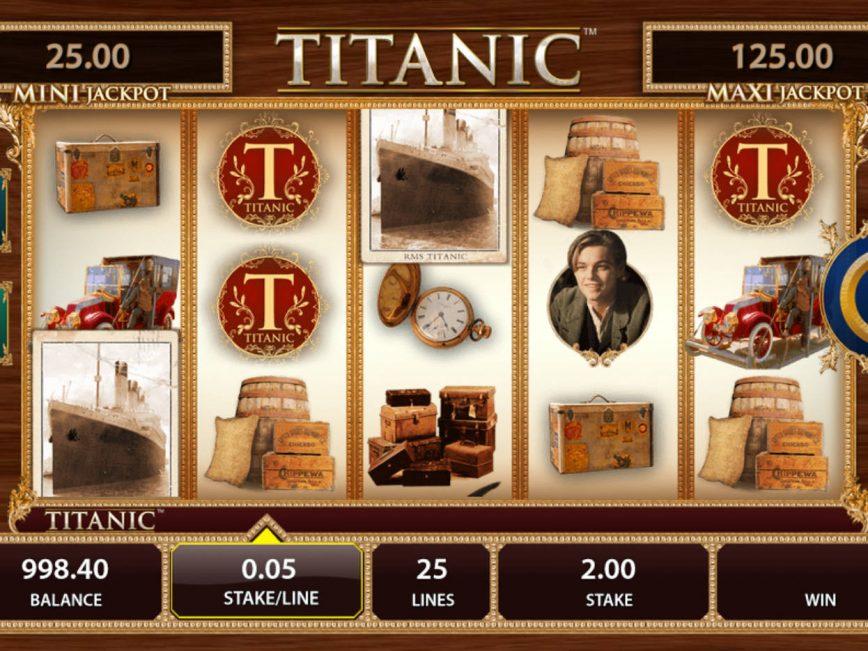 Spin free slot online Titanic