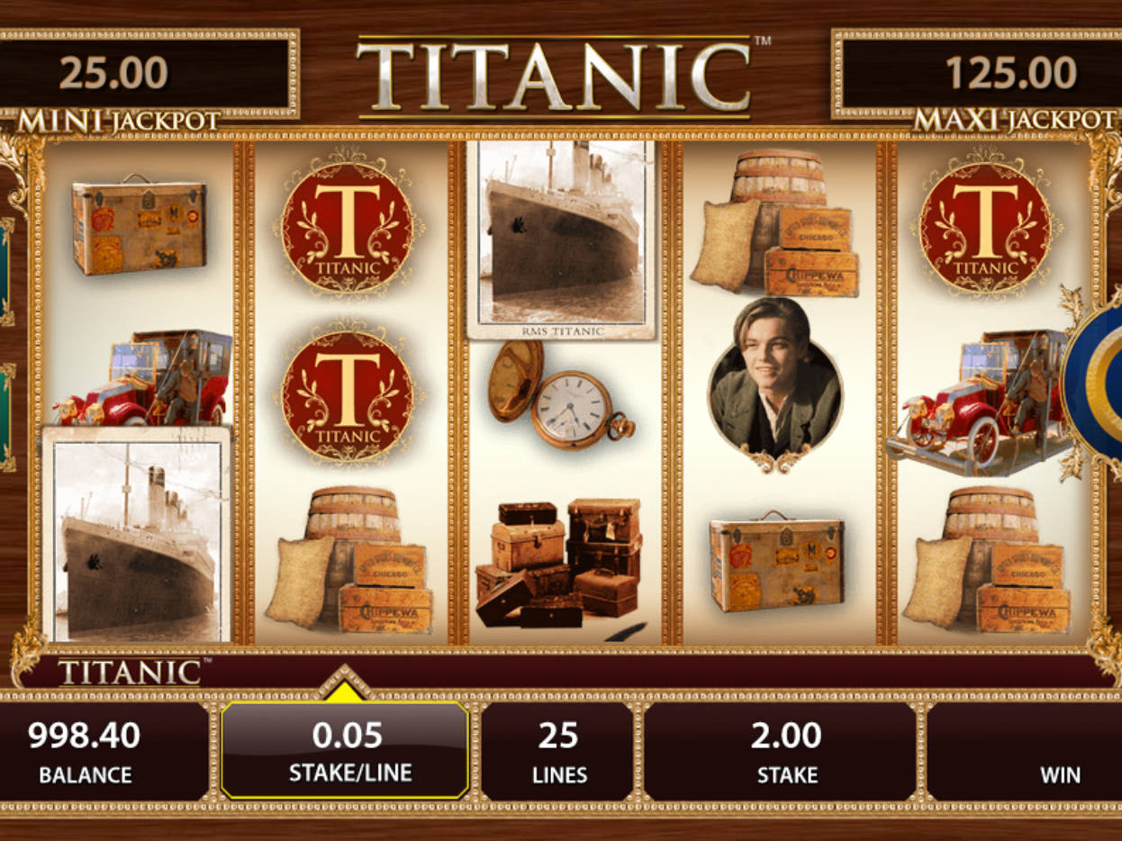 Titanic Slot Machine App