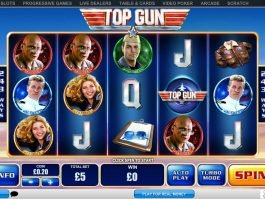 No deposit game Top Gun online and free