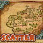 Scatter symbol from casino slot machine Viking Mania