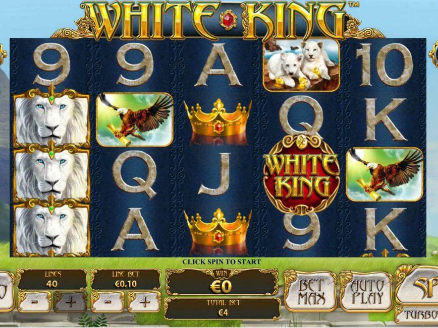 Play free casino game White King