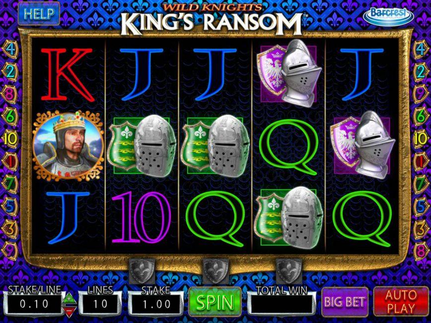 Wild Knights King's Ransom free online slot
