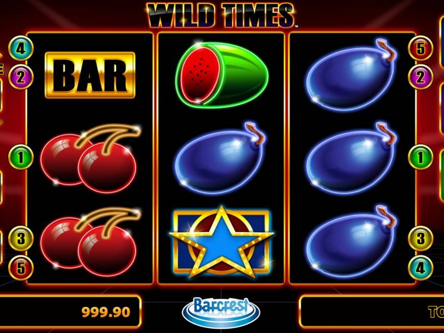 Picture from casino game Wild Times
