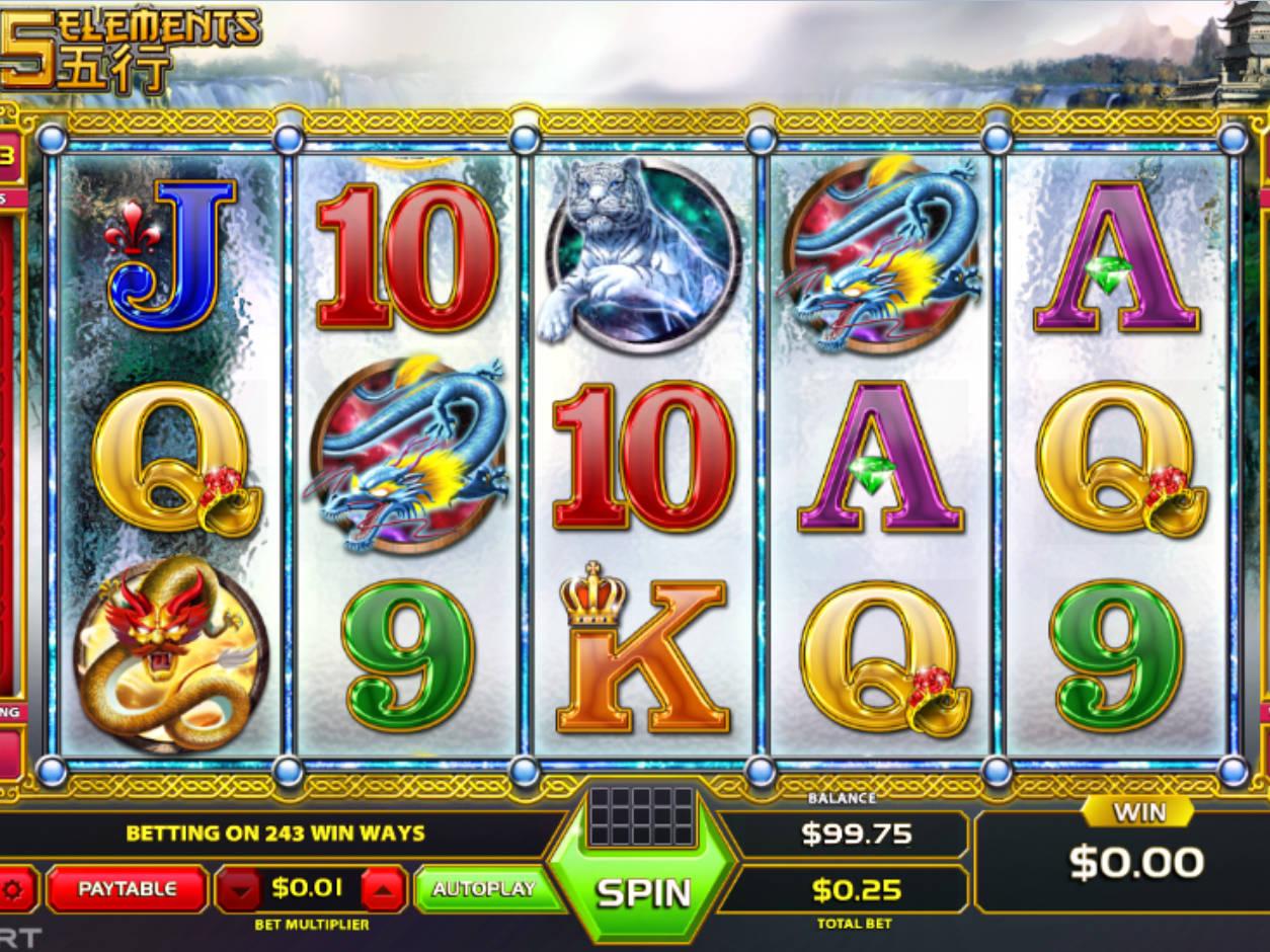 Wild Elements Slot Machine