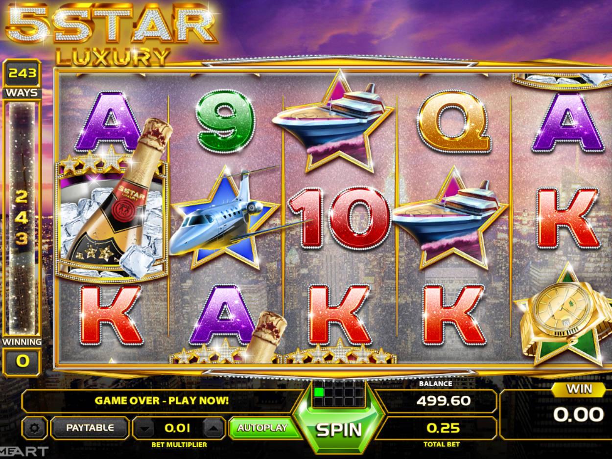 5 Star Casino Game