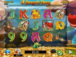 Play slot machine A Dragon's Story online