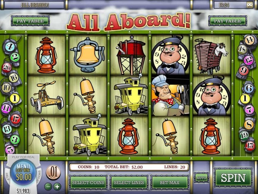 Picture of All Aboard! casino game