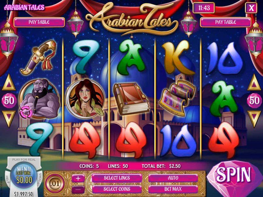 Free online slot Arabian Tales no deposit