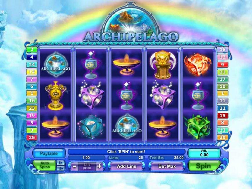 No deposit game Archipelago online