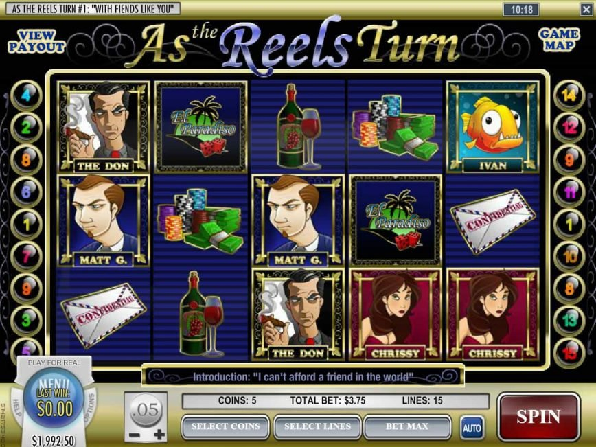 Free slot machine As the Reels Turn