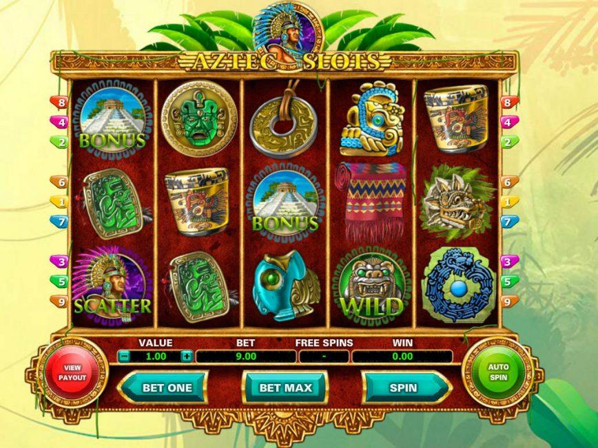Play free online slot Aztec Slots