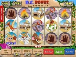 Free casino game B. C. Bonus no deposit