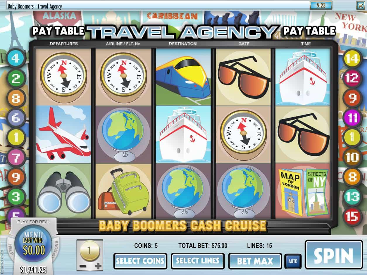 Baby Boomers Cash Cruise Slot Machine