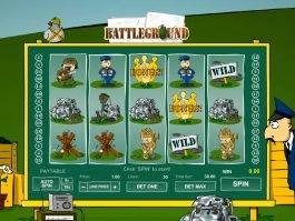 Battleground Spins online slot game