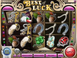 Best of Luck online free slot by Rival Gaming