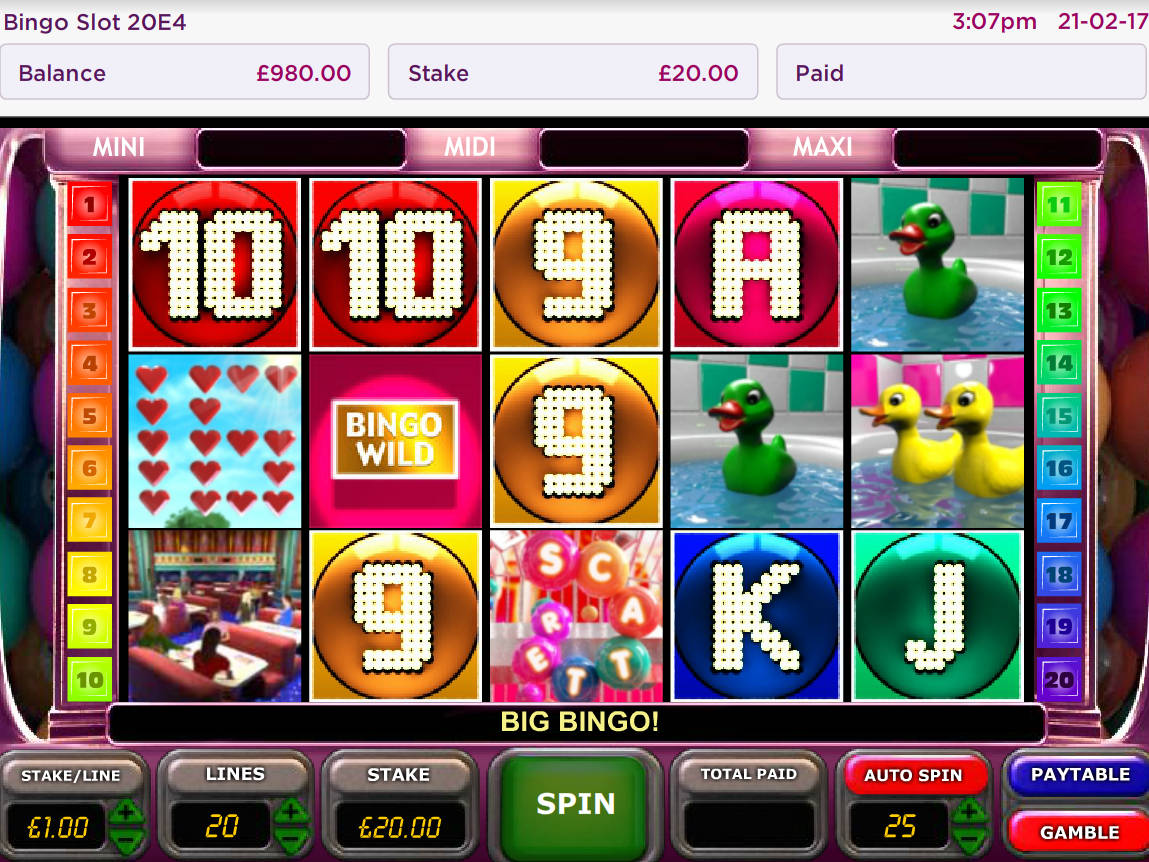 How To Play Bingo Slot Machines