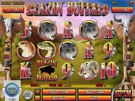 Blazin' Buffalo slot for fun