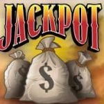 Jackpot symbol from free slot machine Blazin' Buffalo