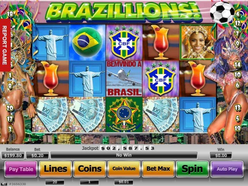 Casino online slot machine Brazillions