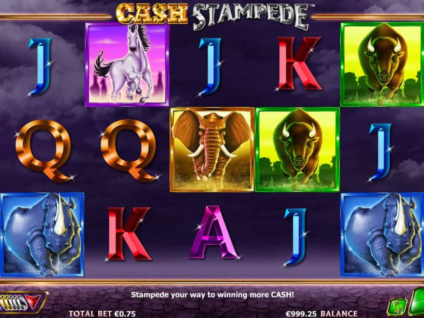 Play Cash Stampede Free Play Slot With No Download