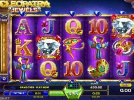 Casino online game Cleopatra Jewels