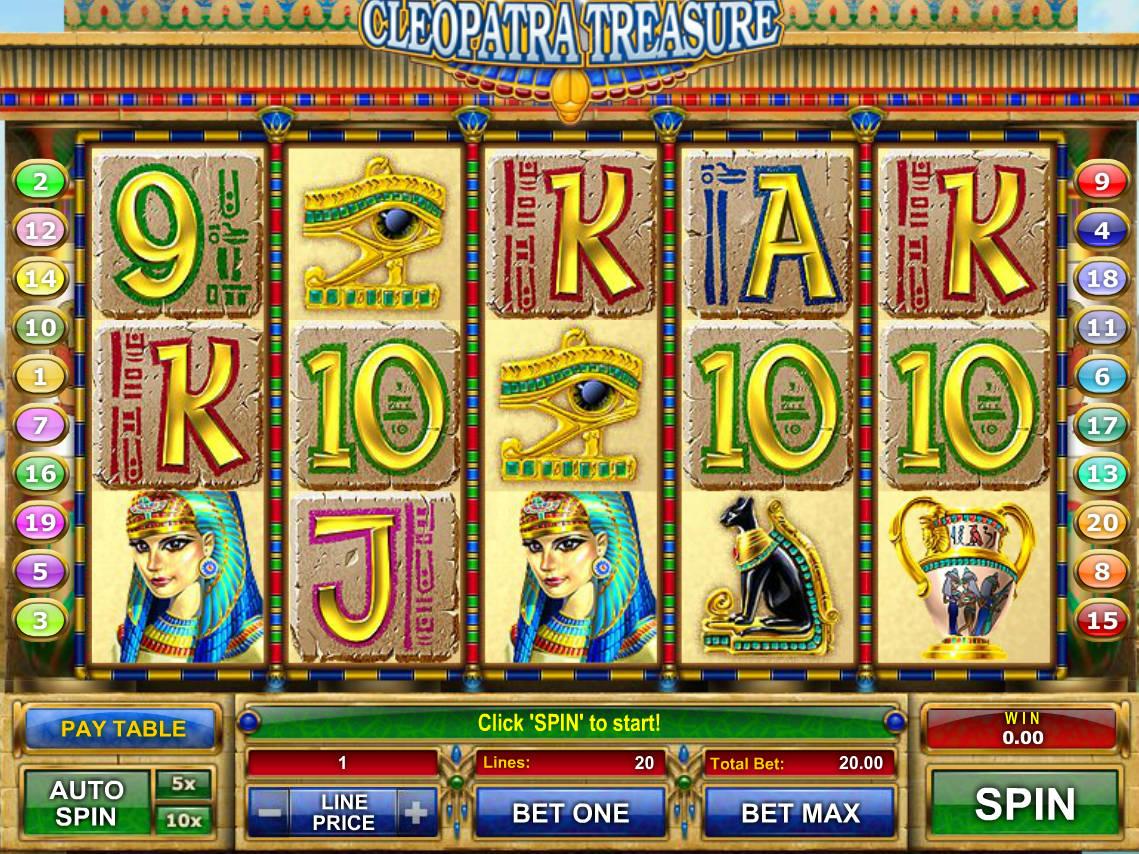 Cleopatra Treasure Slot Online