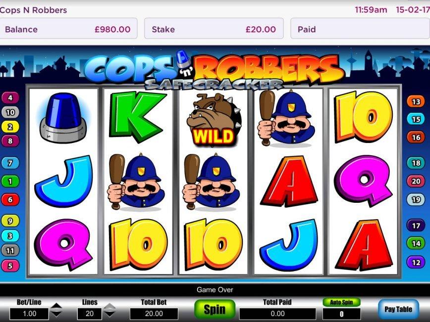 Cops'n'Robbers - Safecracker
