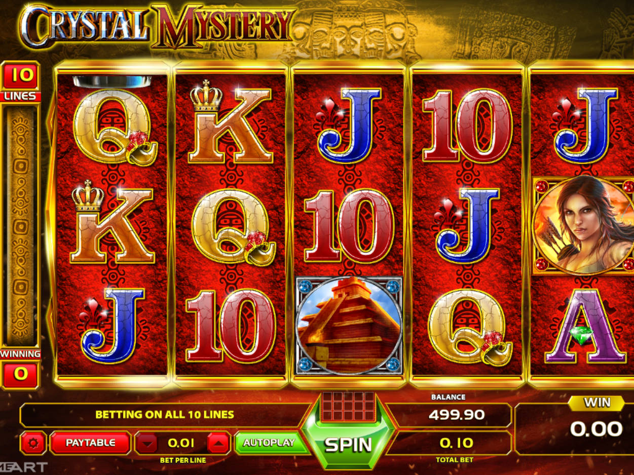 Crystal Mystery Slot Machine Play Free Online Game