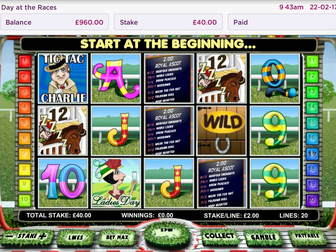 Day at the Races Slot - Play Penny Slots Online