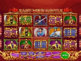 East Wind Battle online free slot