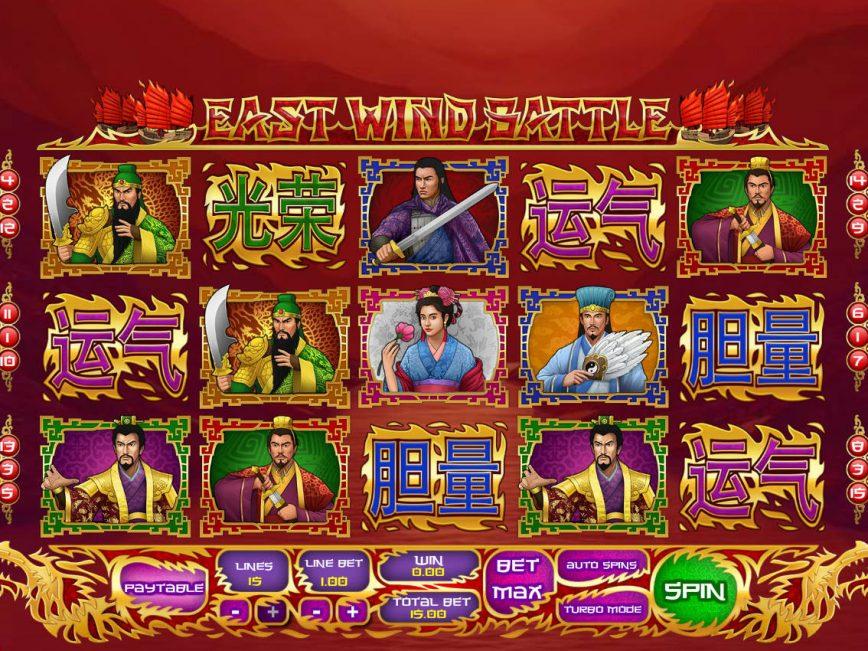 East Wind Battle online free slot