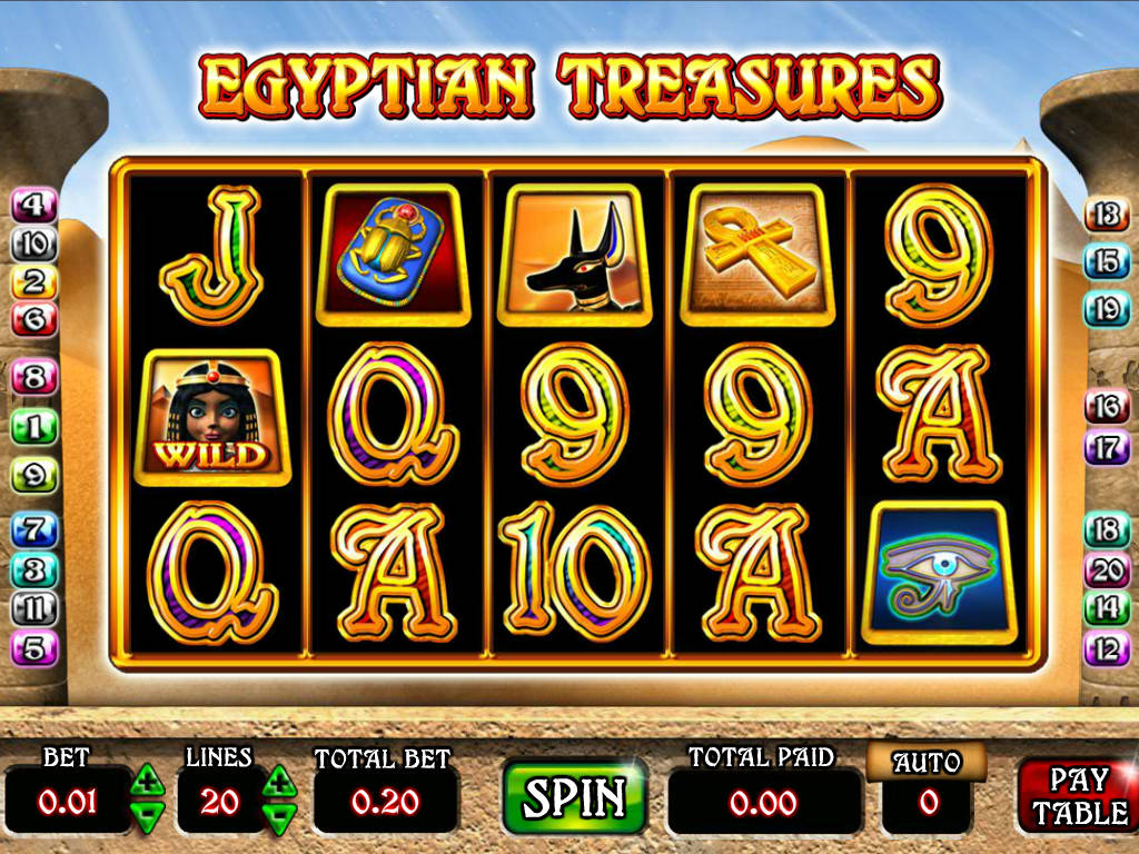 Free Slots Com Treasures Of Egypt