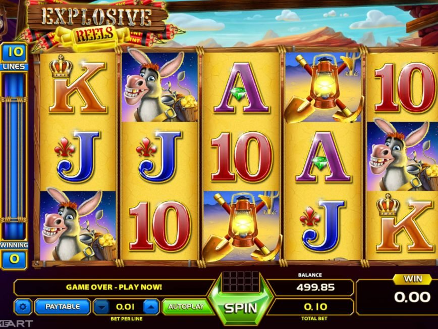 Explosive Reels slot machine