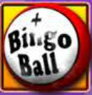 Symbol of Bingo Ball from free slot Eyes Down