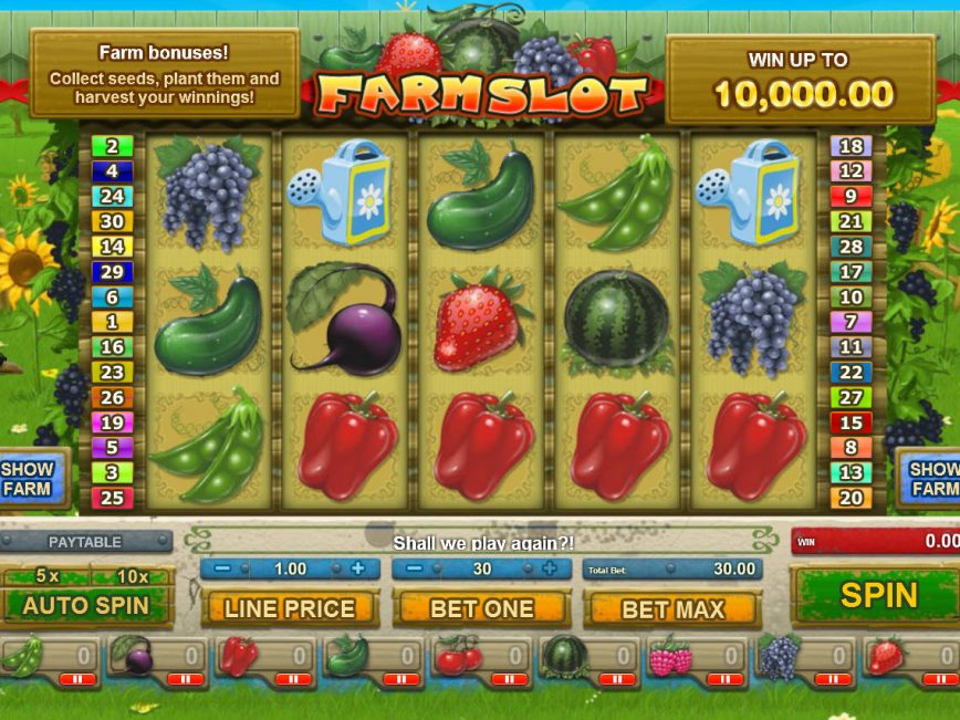 Slots Farm – your go-to app for ultimate slots fun! Straight from Facebook, the best collection of slots goes mobile! - Play the new slot, Non-Stop Party! - Get Free Coins for downloading the app! - Get 5, Coins for FREE on the first login with your Facebook account! 3,8/5(1,7K).