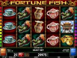 Play casino slot machine Fortune Fish
