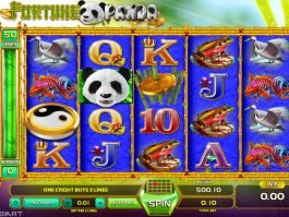 Fortune Panda online slot by GameArt