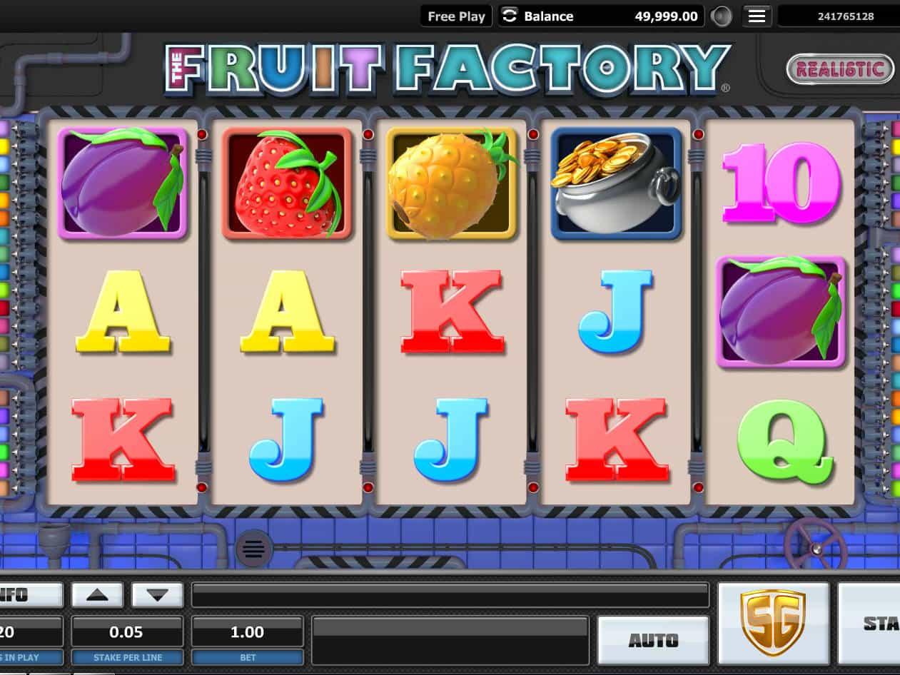 The Fruit Factory Slot Machine