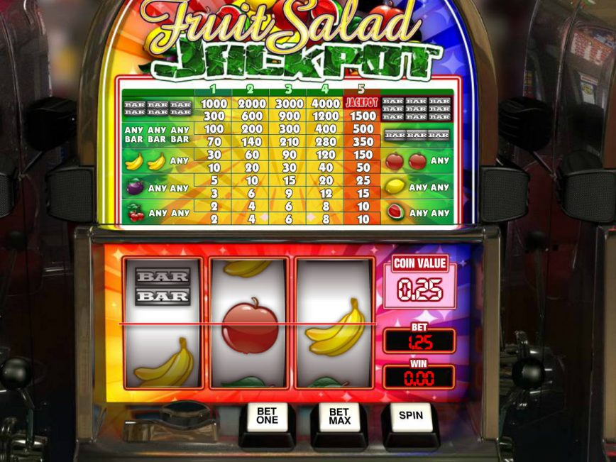 Free online slot game Fruit Salad Jackpot