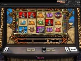 Free casino game Go Wild On Safari
