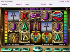 Casino free game Gods of the Nile II