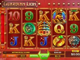 Slot for fun Guardian Lion online