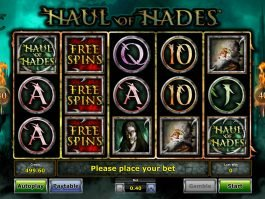 Free slot Haul of Hades for fun